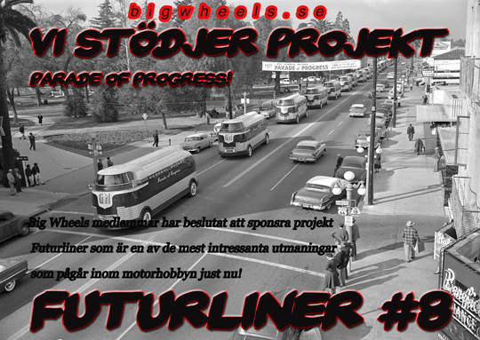 Big Wheels Malung stödjer projekt Futurliner 8